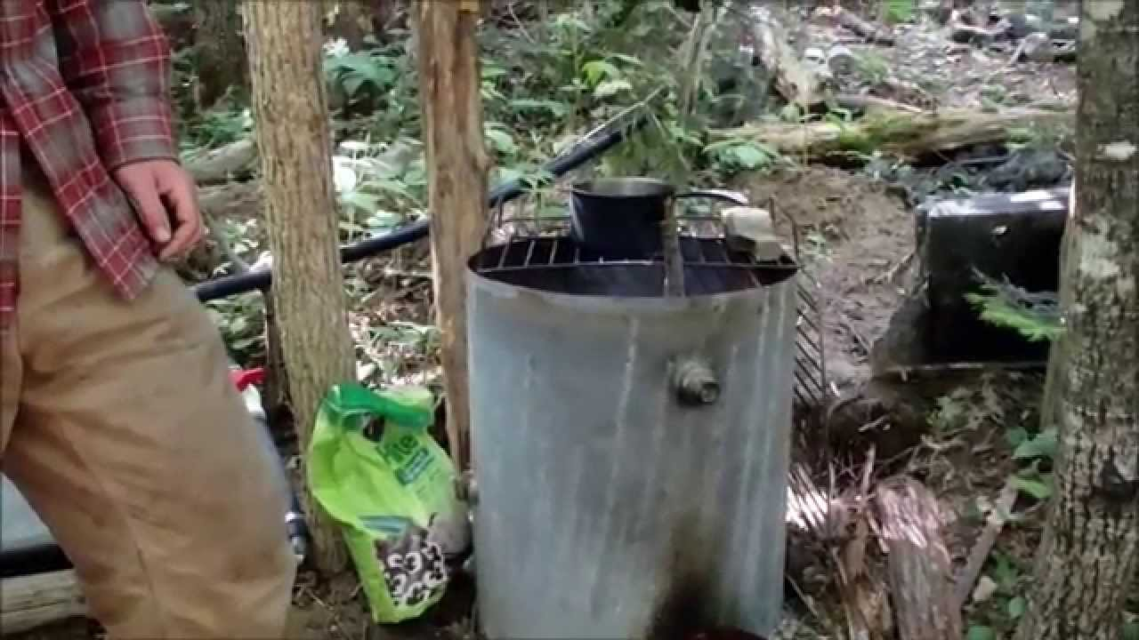 Outdoor Kitchen And Rocket Stove