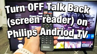 Philips Android TV: How to Tur…