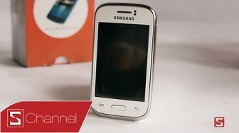 Schannel - Mở hộp Samsung Galaxy Young - CellphoneS