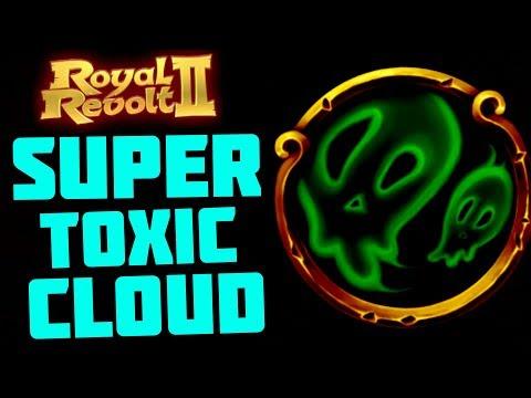 ROYAL REVOLT 2 - SUPER TOXIC CLOUD (50% stronger!!)