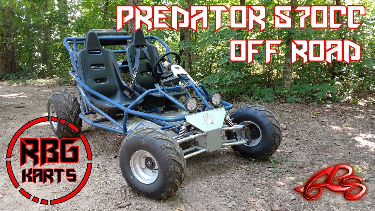 670cc predator off road go kart hill climbing youtube. Black Bedroom Furniture Sets. Home Design Ideas