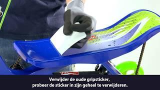 Space Scooter - Gripsticker vervangen junior X360 (NL)