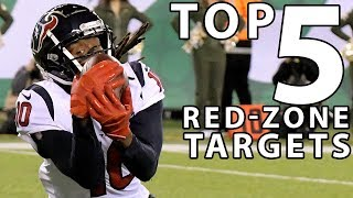 Top 5 Red-Zone Targets in the NFL