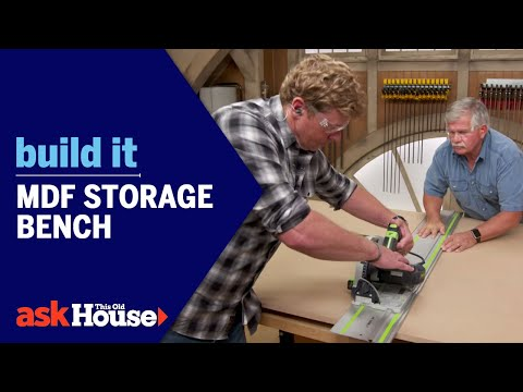Build It | MDF Storage Bench