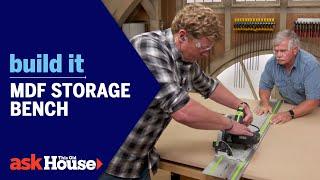 Build It | MDF Storage Bench