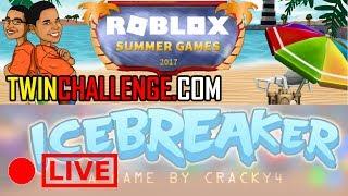 ROBLOX SUMMER GAMES ICEBREAKER