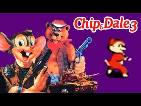 Chip And Dale 3 / Чип И Дейл 3 (Heavy Barrel) прохождение (NES, Famicom, Dendy)