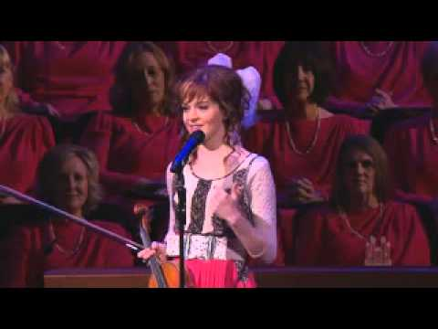 lindsey stirling performs with the mormon tabernacle choir youtube