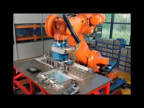 FlexiFab Demo: Robotic Stationary Shoulder FSW