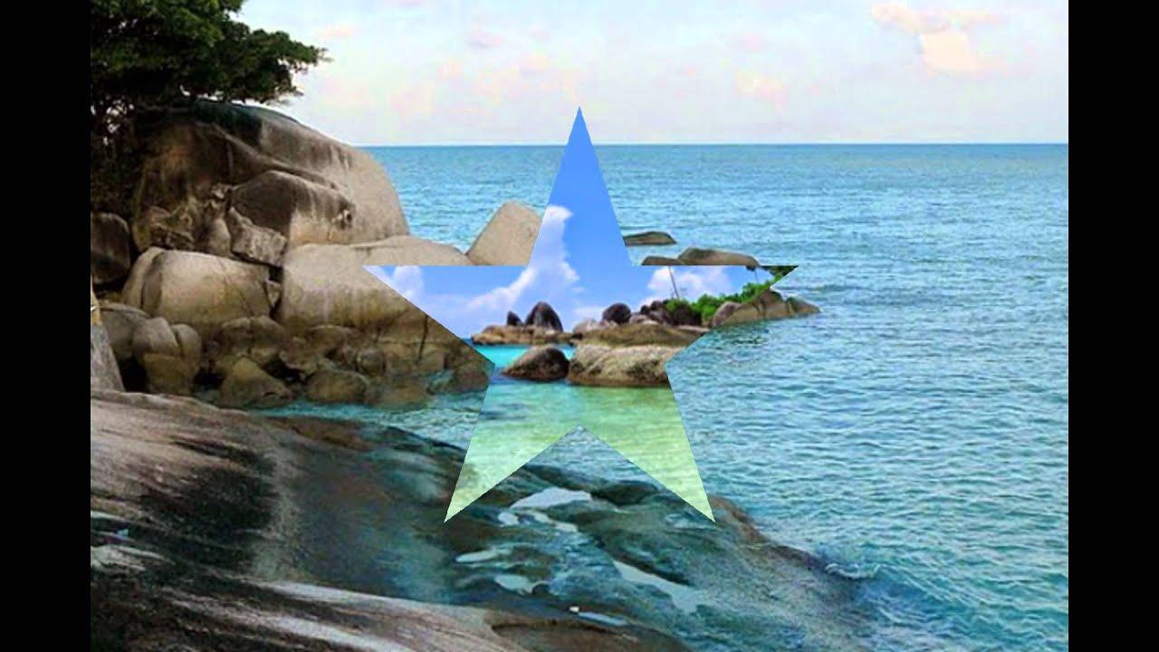 Pantai Tanjung Pesona Bangka Belitung Tempat Wisata Di