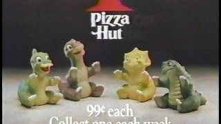 Pizza Hut Commercial - The Land Before Time (1988)