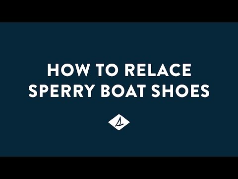 How to Relace Sperry Boat Shoes