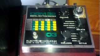 Electro Harmonix DRM32 model 3 Drum Machine - Cubase 5 + vst plugins ~ 1080P HD