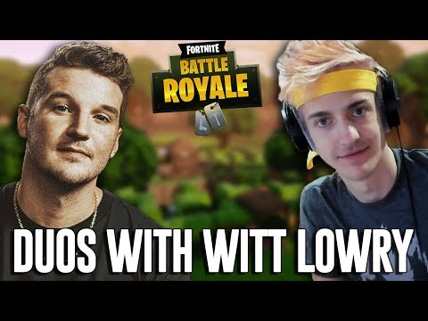 Duos with Witt Lowry! - Fortnite Battle Royale Gameplay - Ninja