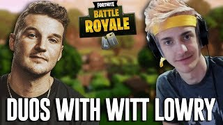Duos with Witt Lowry! - Fortnite Battle Royale Gameplay - Ninja thumbnail
