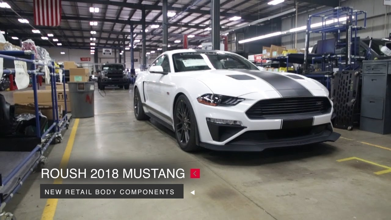 2018 mustang roush r8 aero kit roush performance