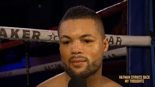 JOE JOYCE BACK IN ACTION!!! RICHARD LARTEY NEXT FRIDAY!!!