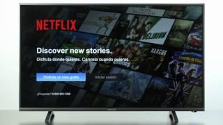 Smart TV | Crear una cuenta en Netflix.