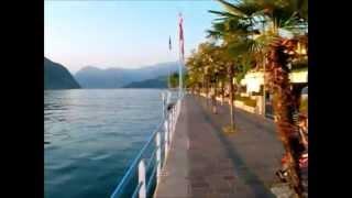 Passeggiata Lungo la Riva del Lago d'Iseo,Venerdì 15-06-2012