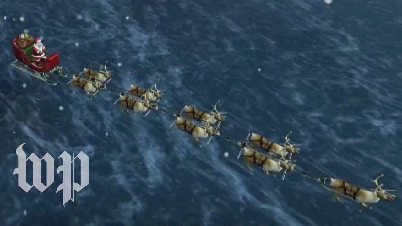 Santa tracker: Follow along as Santa Claus makes his trip around the world – Washington Post