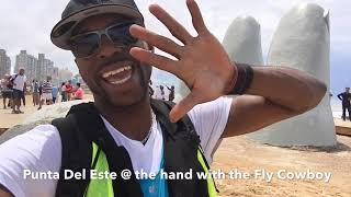 Fly Cowboy show you The Hand in Punta Del Este Uruguay Part2 close up with explanation of creation.