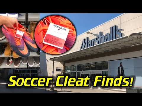 Hunting for Soccer Cleats at Marshalls!