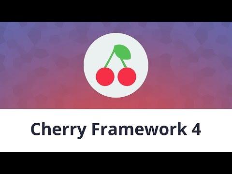 "CherryFramework 4. How to use ""Cherry Data manager"" plugin (Cherry Import option)"