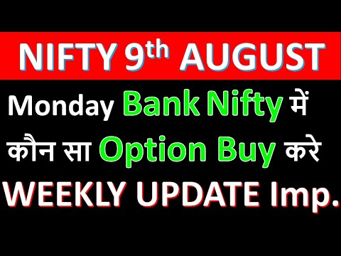 Bank Nifty Tomorrow Prediction 9 August U0026 Option Strategy | Nifty Tomorrow 9 AUGUST 2021 Traderstech