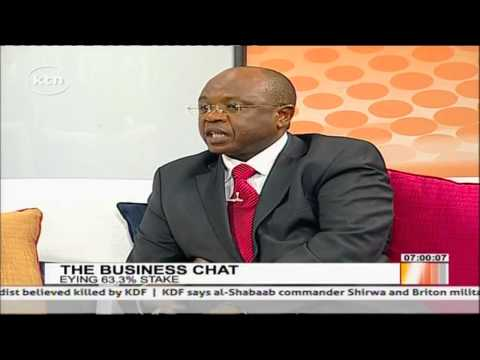 Mr  Stephen Githiga speaks on economic sense