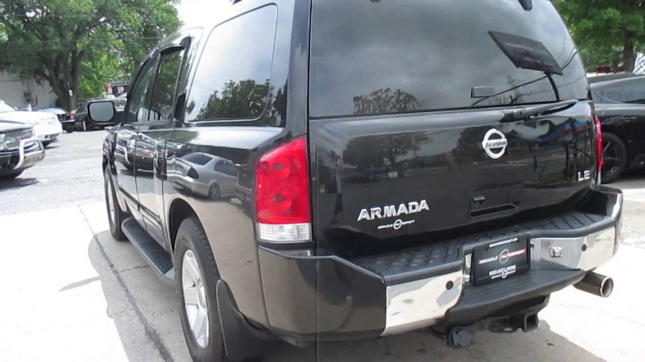 Perfect 2006 Nissan Armada LE