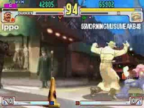 Q (55MORNINGMUSUMEAKB48) vs Akuma, Alex, Dudley (Ippo) 2