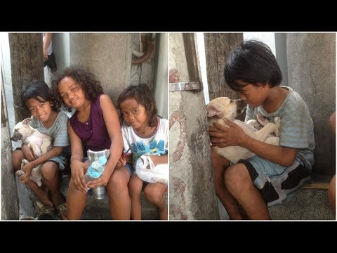 Poor Boy Adopted A Dog the dog stuck by his side Regardless of his poverty