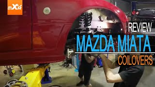 MaXpeedingrods Coilovers Review, For Mazda Miata