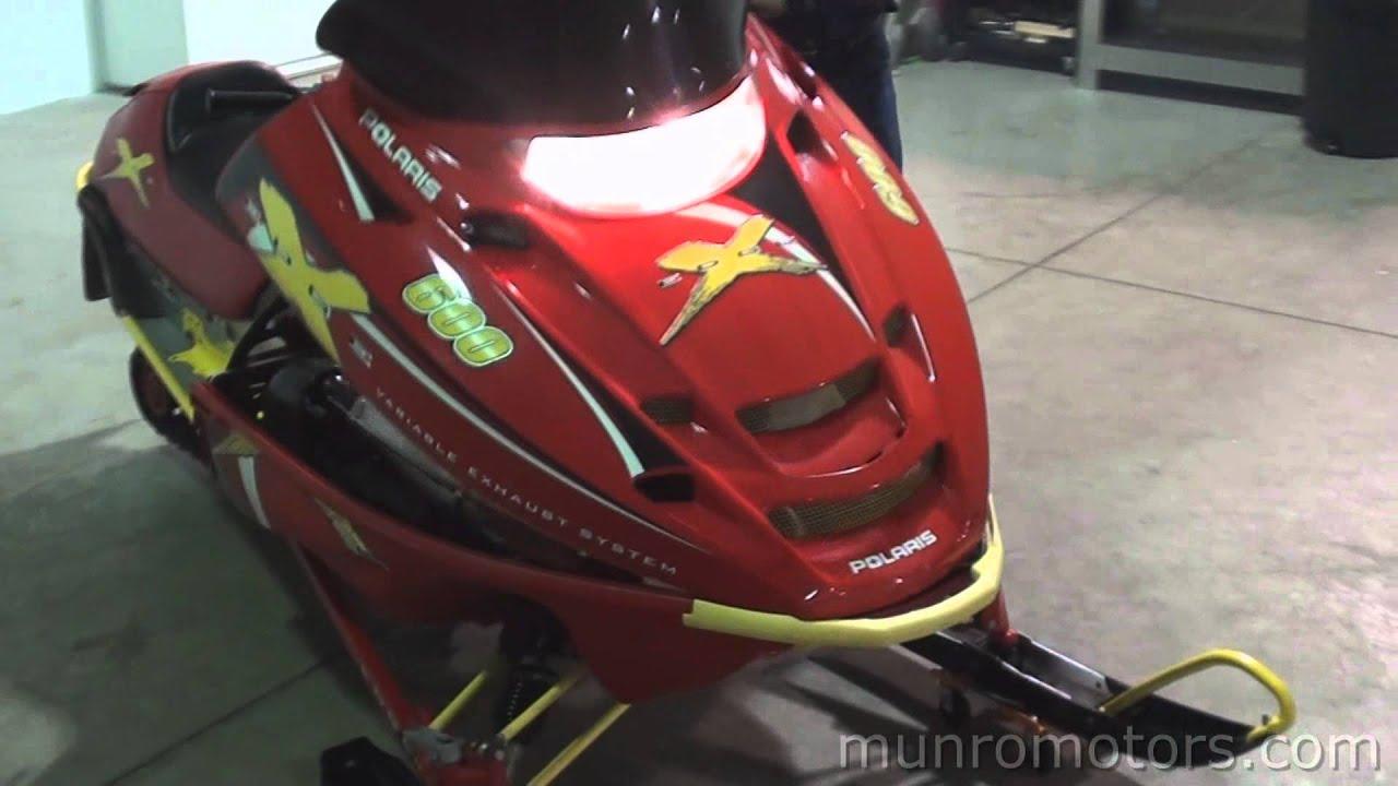 2001 Polaris edge 600 XC used snowmobile SOLD Brantford
