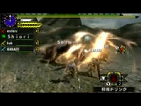 【MHX】訓練されたストライカー太刀部隊 VS ラージャン【あけおめ】