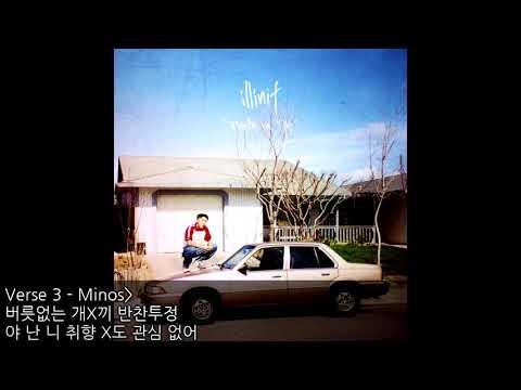 Half Duplex(Feat. Optical Eyez XL, Minos) - 일리닛(Illinit) [가사]