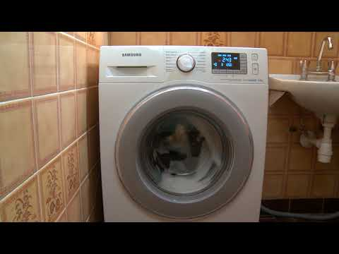 THE LONGEST program for COTTON washer. Samsung washing machine