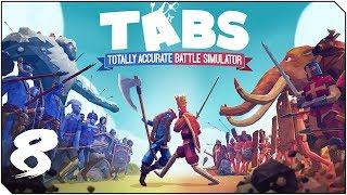 TOTALLY ACCURATE BATTLE SIMULATOR | Capítulo 8 | El destino de Naruto y Sasuke y los NINJAS en TABS!
