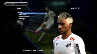 Neymar Loiro(Blonde)-Face atualizada Pes 2013