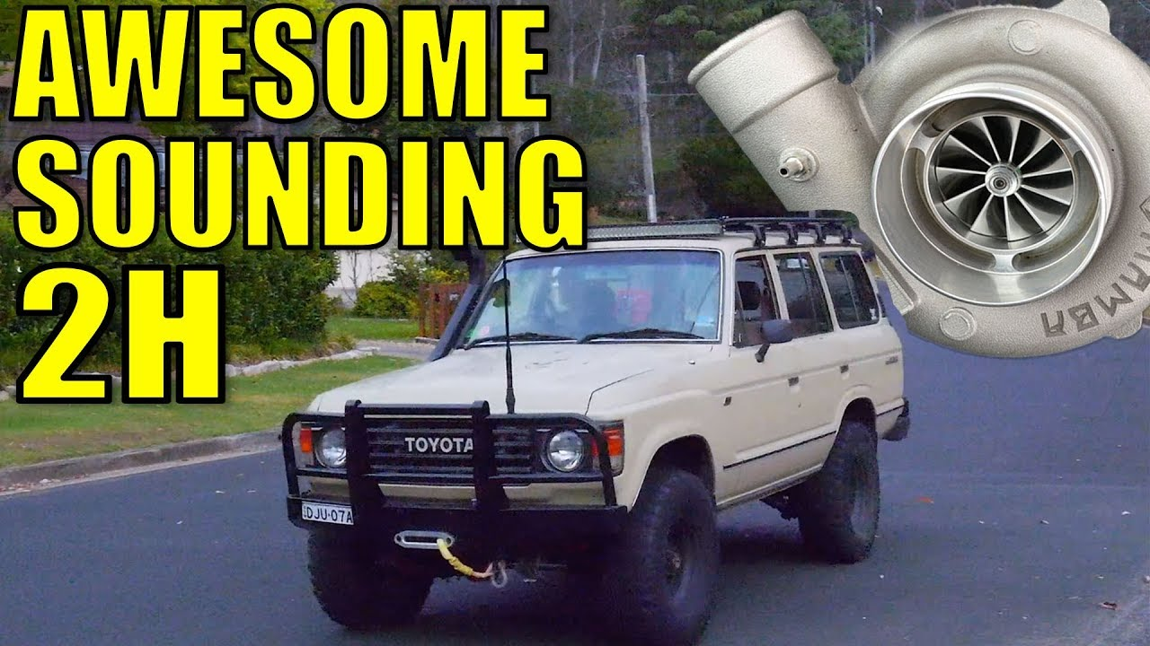 INSANE ANTI-SURGE BALL BEARING TURBO - 60 SERIES 2H LAND CRUISER