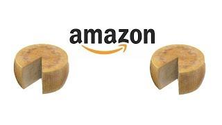 Reading Funny Amazon Cheese Wheel Reviews