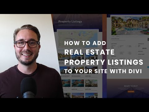 How to Add Real Estate Property Listings to Your Website with Divi