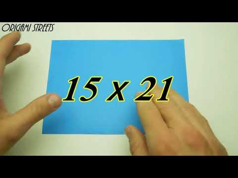 Cara Membuat Bookmark Dari Kertas Origami