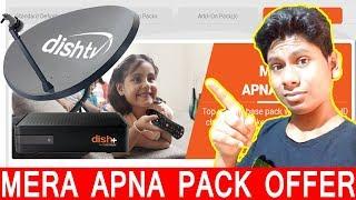 DishTV  Mera Apna Pack Offer