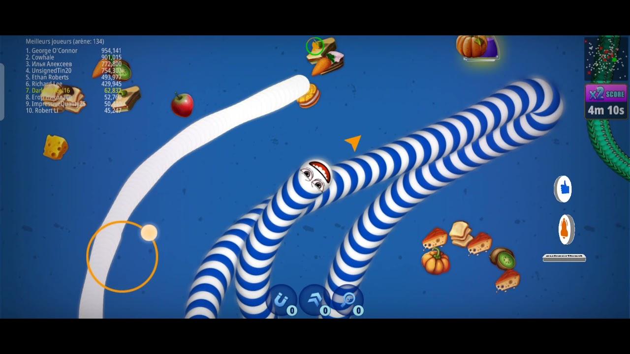 Download WarmsZone, jeux de serpent, manger dès vers de terre sans arrêt, slither.io