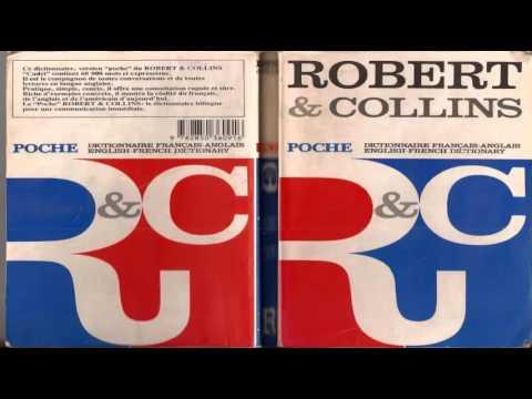 Collins Robert Poche Dictionaire français anglais, English French dictionary
