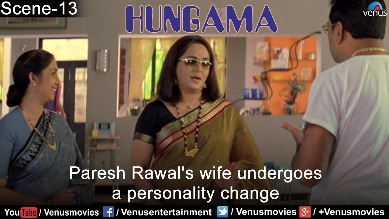 Paresh Rawal's wife undergoes a personality change (Hungama)