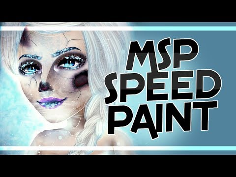 Frost Bite - Elsa || Glam & Gore inspired || MSP Base Edit