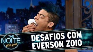 The Noite (11/11/16) - Desafios com Everson Zoio