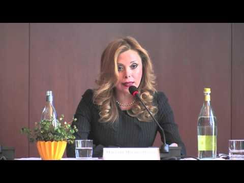 Convegno ISN 27-11-2015 - Console Generale del Messico a Milano Marisela Morales Ibañez